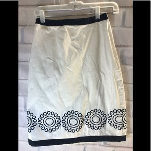 Downeast embroidered skirt